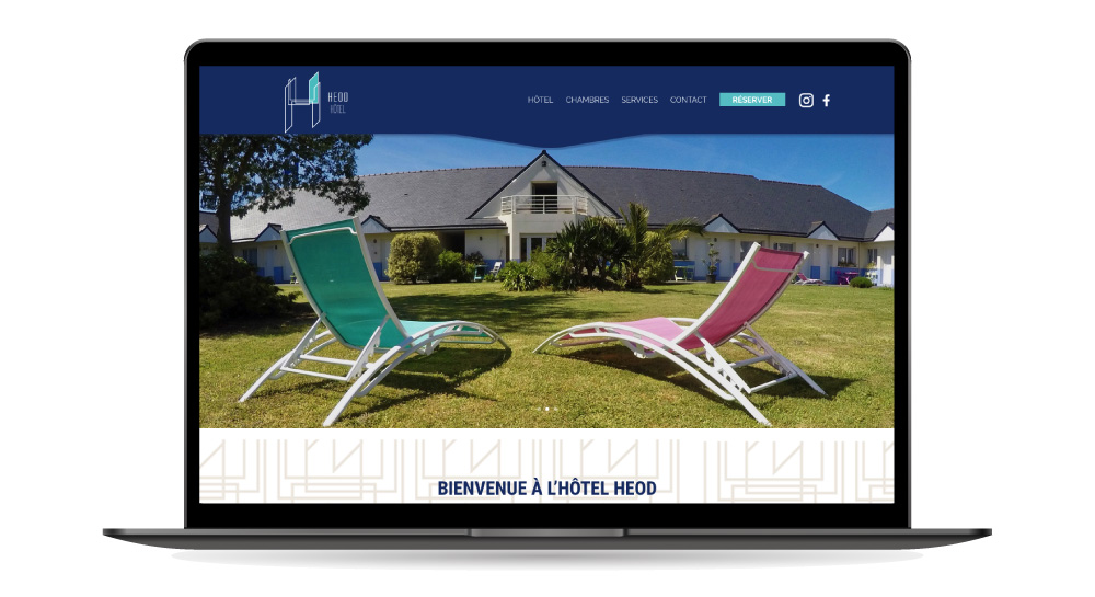 Hotel Heod - site Internet One Page