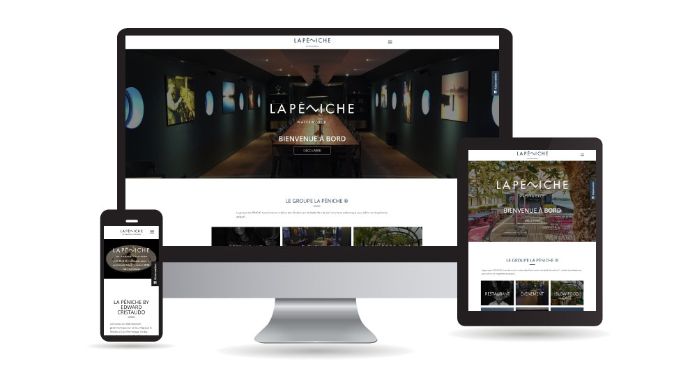 La Péniche – Multi Sites (B&B, Restaurant, Events, Brasserie)